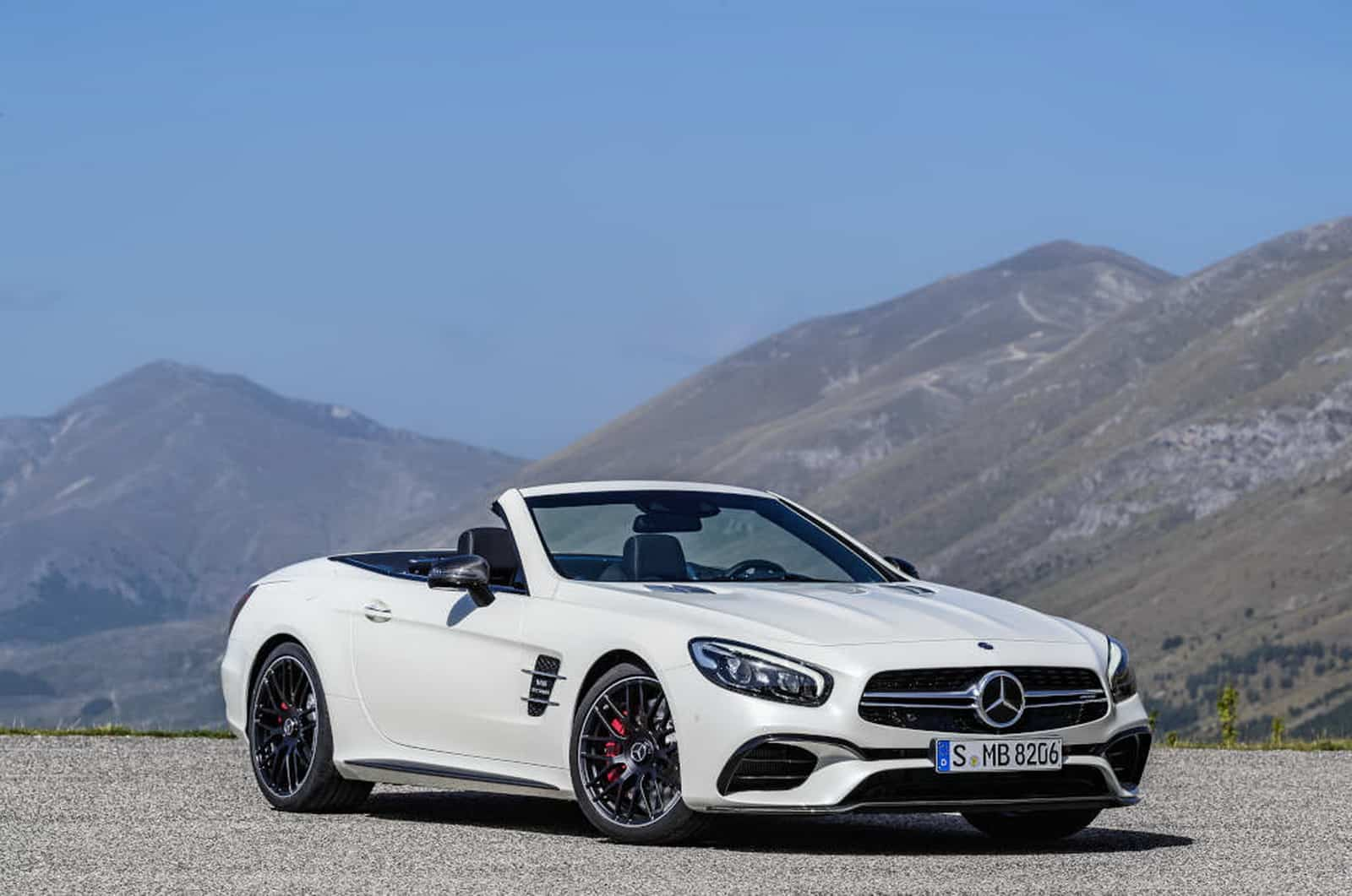 Mercedes AMG SL 63, Diamantweiß Mercedes-AMG SL 63, diamond white