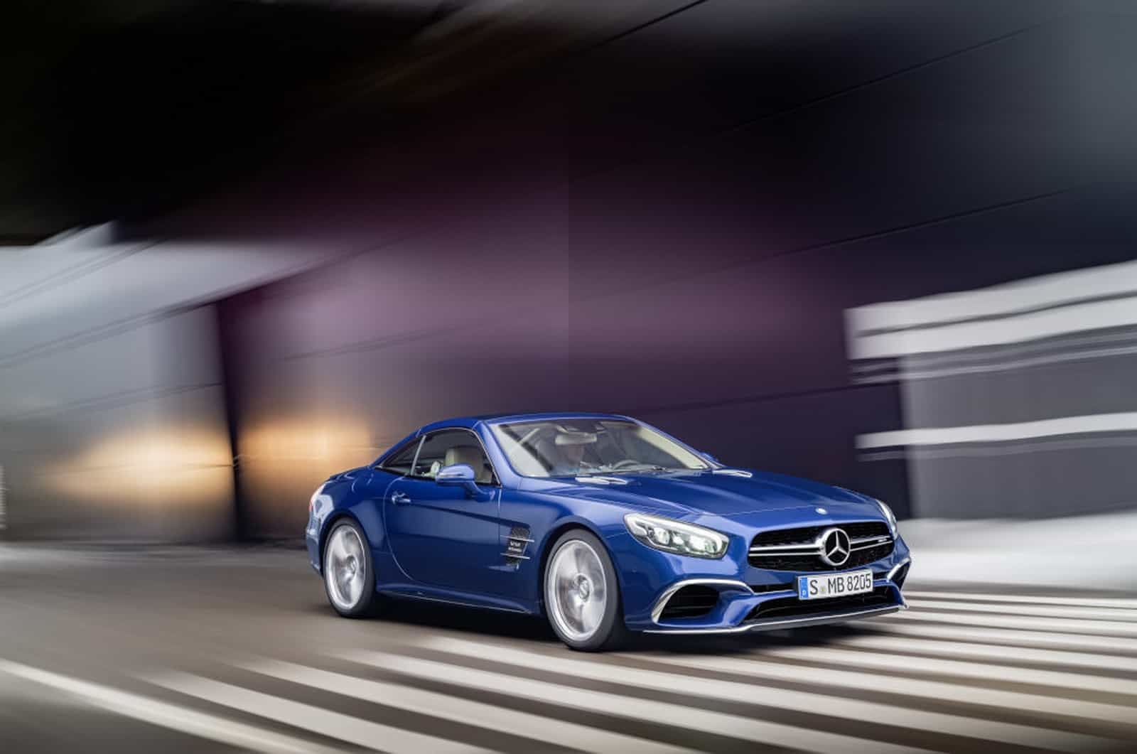 Mercedes-AMG SL 65, Brilliantblau Mercedes-AMG SL 65, brilliant blue
