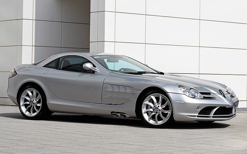 2003 Mercedes-Benz SLR McLaren top car rating and specifications