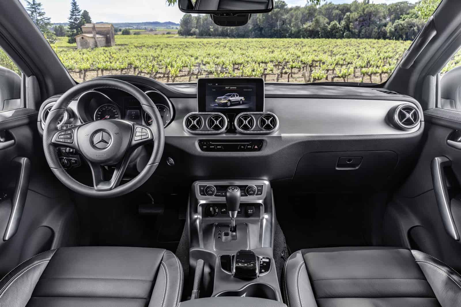 Mercedes-Benz X-Klasse – Interieur, Ausstattungslinie POWER  Mercedes-Benz X-Class – Interior, design and equipment line POWER