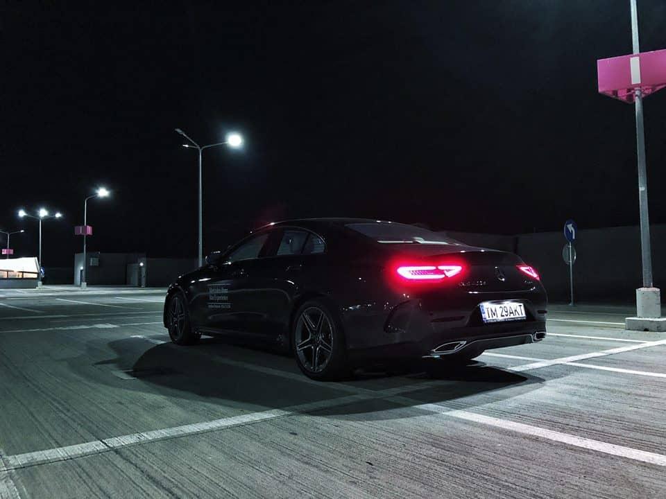 Noul Mercedes Benz CLS Test Drive Turatii Scrise