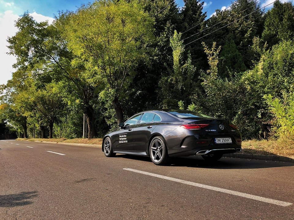 Noul Mercedes Benz CLS Test Drive