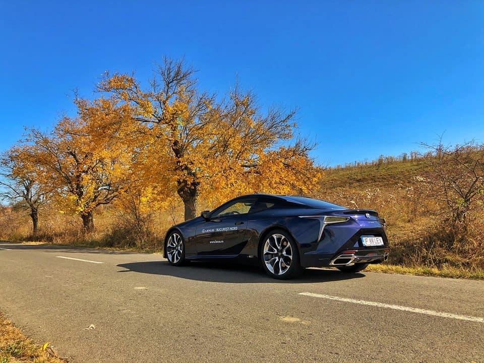 Lexus LC500h Test Drive Turatii Scrise // Blog Auto