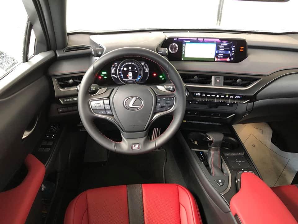 lexus ux250h interior